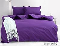 ТМ TAG Комплект постільної білизни 1,5-сп. Sunset Purple, фото 1