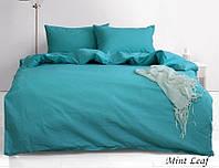 ТМ TAG Комплект постельного белья евро Mint Leaf, фото 1