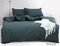 ТМ TAG Комплект постельного белья emax Dark grey, фото 1