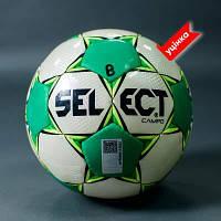 М'яч футбольний B-GR SELECT CAMPO,(206) білий/зелений, р. 3