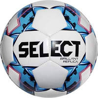 М'яч футбольний SELECT Brillant (318) бел/гол розмір 4