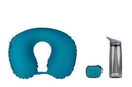 Надувная подушка Sea To Summit Aeros Ultralight Pillow Traveller, 11х39х29см, Aqua (STS APILULYHAAQ)