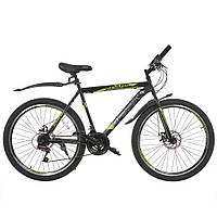 Велосипед SPARK FORESTER 26-ST-20-ZV-D (Чорний з жовтим)