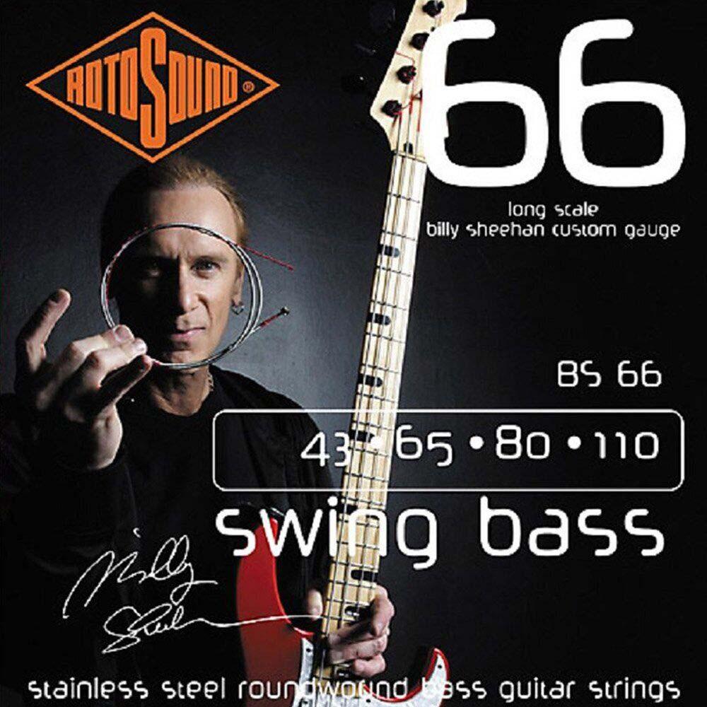 Струни для басгітари Rotosound BS66
