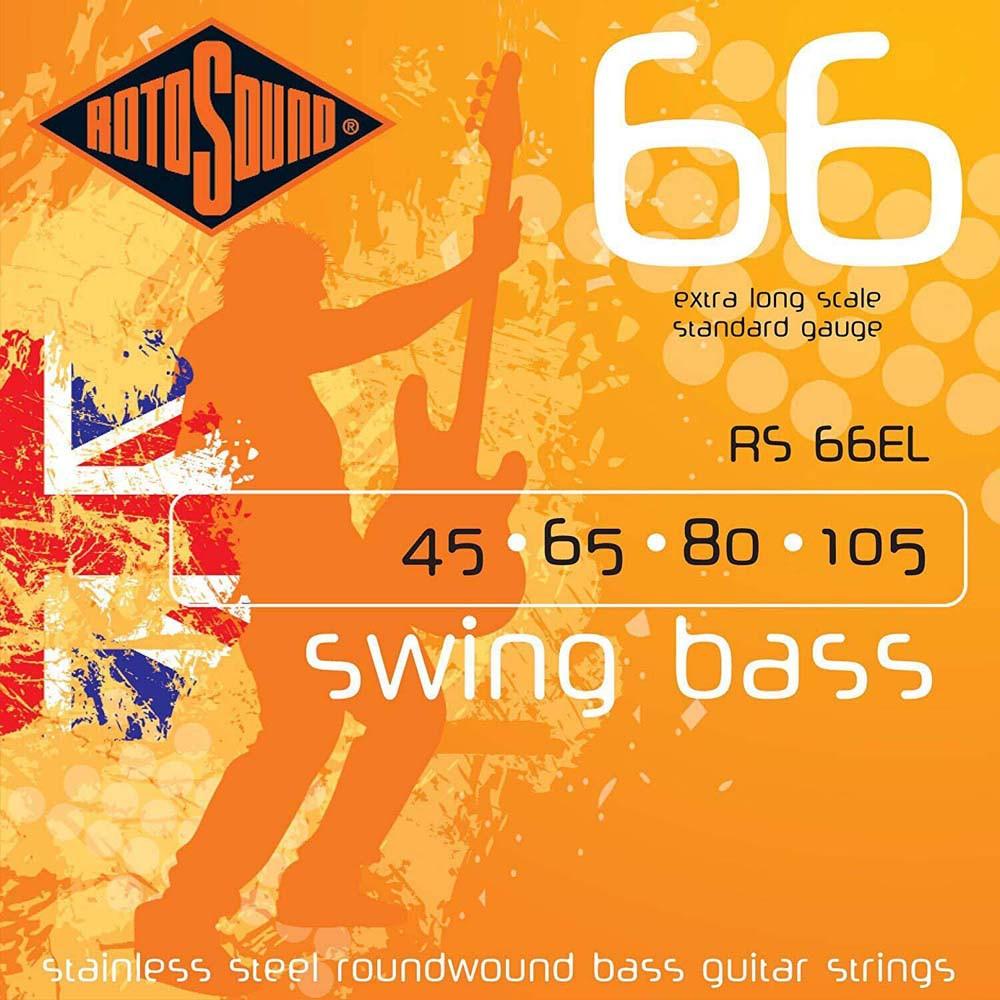 Струни для бас-гітари Rotosound RS66EL