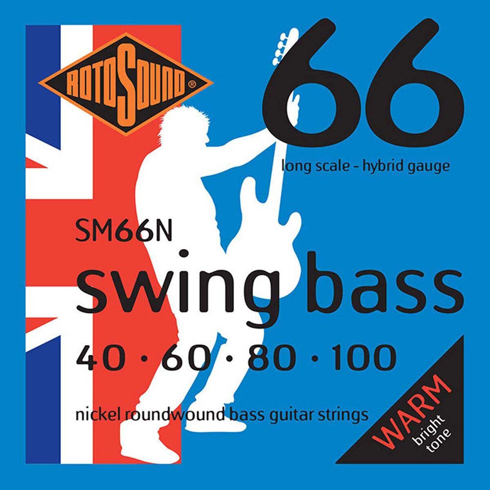 Cтруны для бас-гитары Rotosound SM66N