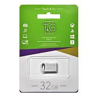 Флешка T&G USB 2.0 Mini-silver 32Gb