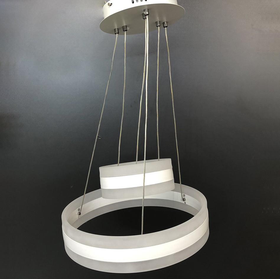 Люстра LED 87-19412/400-2 WH 108W