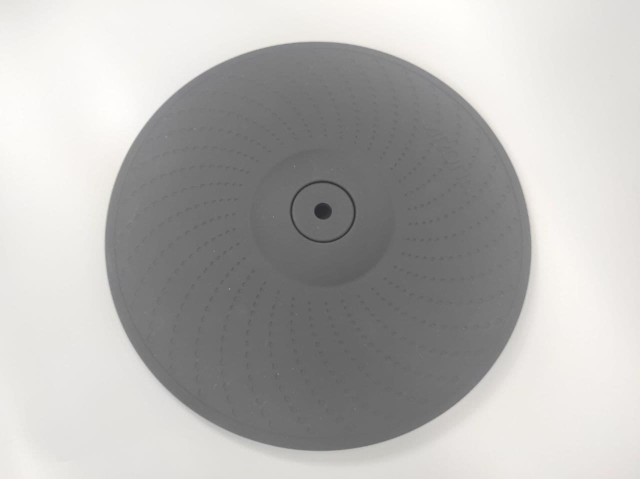 """Двузонная тарелка для электронных барабан с глушением 12"""" AROMA"""