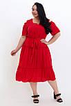 Сукня ТМ ALL POSA Люсьєна червоний 50 (100690), фото 4