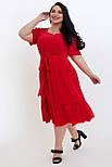 Сукня ТМ ALL POSA Люсьєна червоний 50 (100690), фото 5