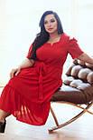 Сукня ТМ ALL POSA Люсьєна червоний 50 (100690), фото 7