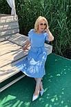 Платье ТМ ALL POSA голубой 50 (100687), фото 2
