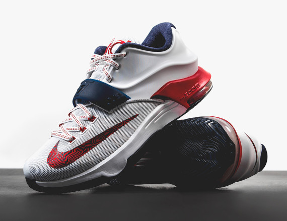 newest 07d1d e4621 ... get nike kd 7 independence day usa shoes mafia b3456 0f0a6