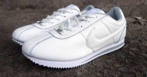 0db9639b Модные кроссовки NIke Cortez белые кожаные 42,46р - Интернет-магазин Дом  Обуви в