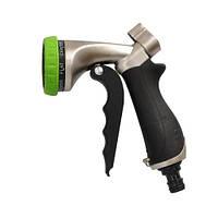 Пистолет для полива Forester металлический 7 функций (E8150)