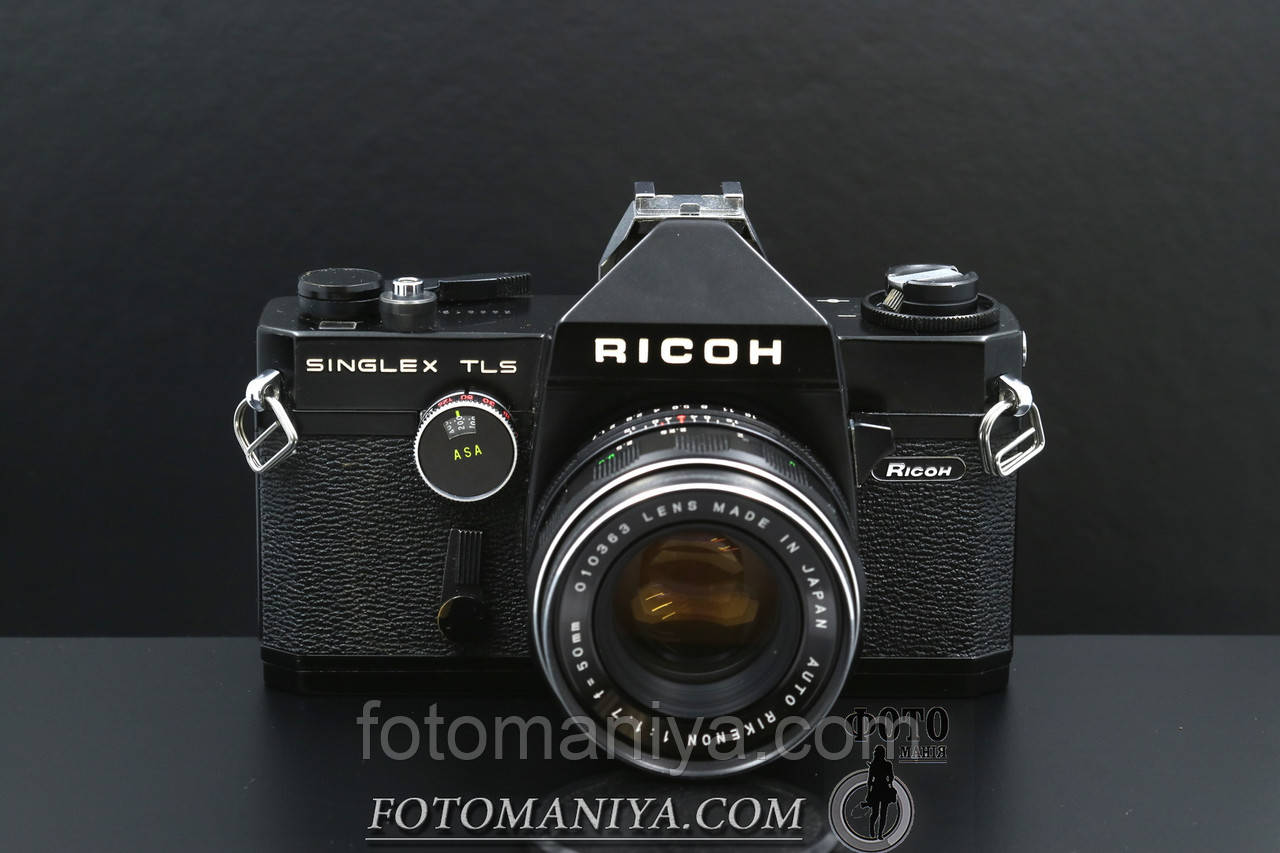 Ricoh singlex TLS kit Rikenon 50mm f1,7