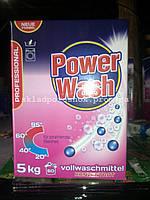 Бесфосфатный стиральныйпорошок POWER WASH Professional Vollwaschmittel