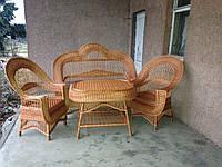 """Набор плетеной мебели""""Полька"""""""