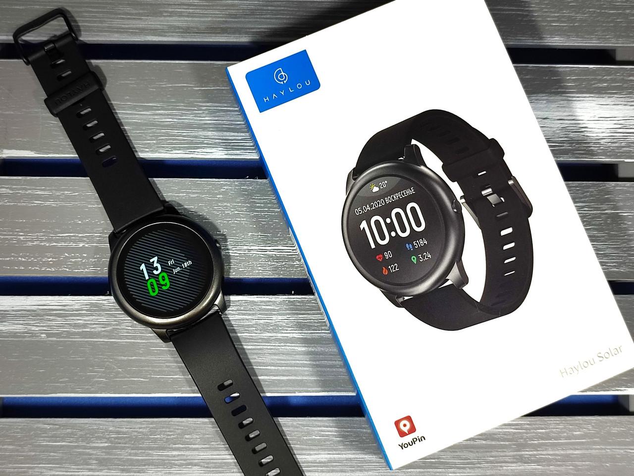 Розумні годинник Xiaomi Haylou LS05 ОРИГІНАЛ + ГАРАНТІЯ 6 МІСЯЦІВ