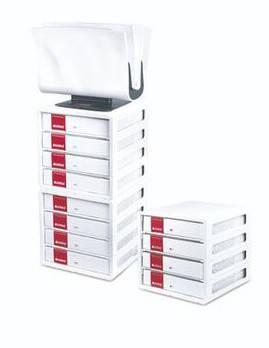 Лоток для зберігання обкладинок PELEMAN Cover White Tower