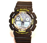 Наручний годинник WR20M Чорні з жовтим, фото 1