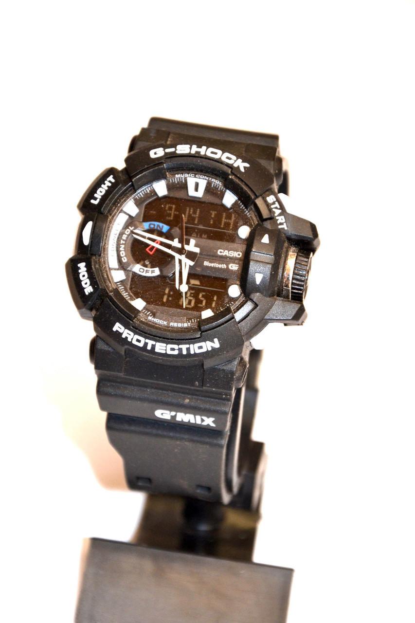 Наручные часы  Protection черные с белым
