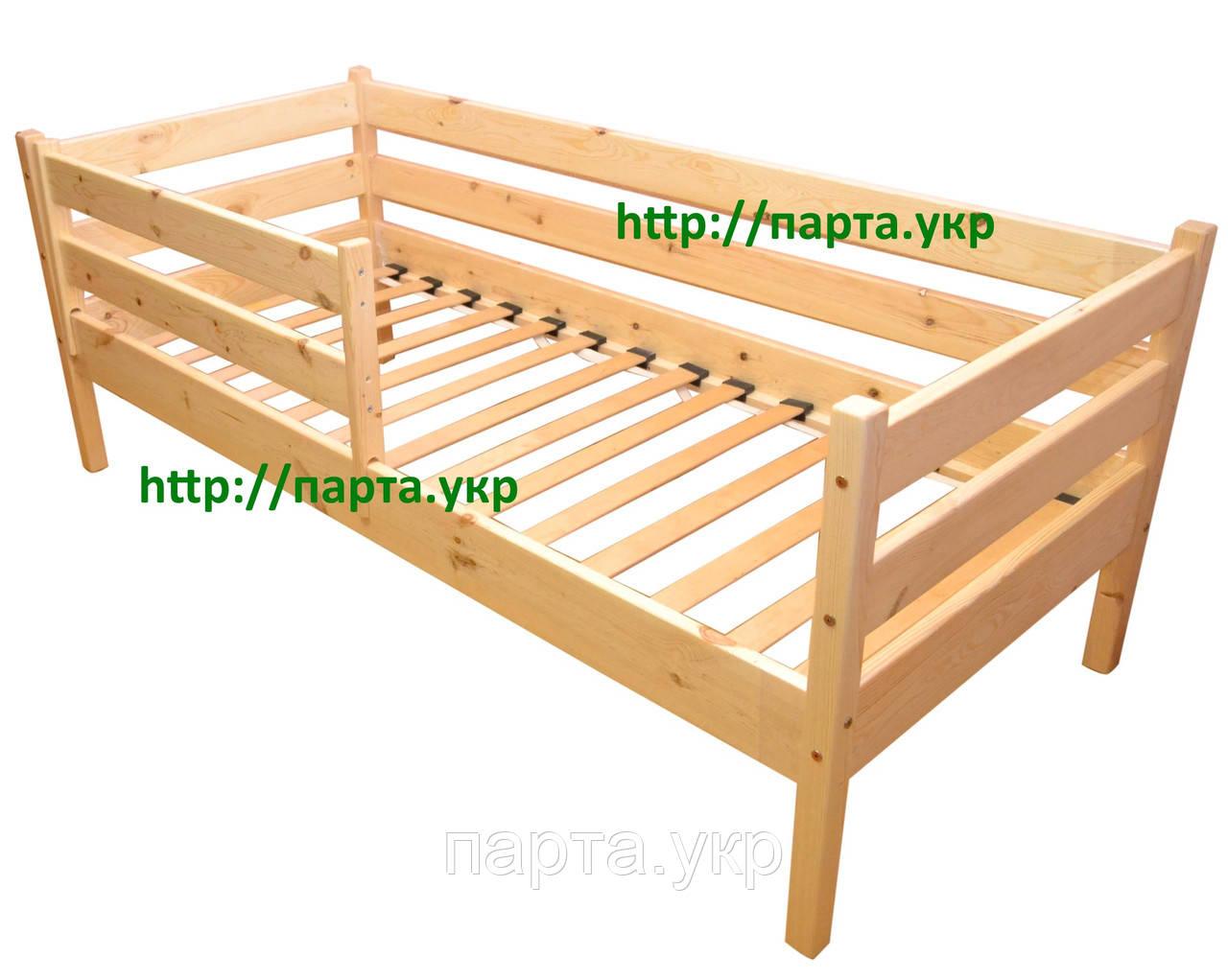 Ліжко односпальне + бортик