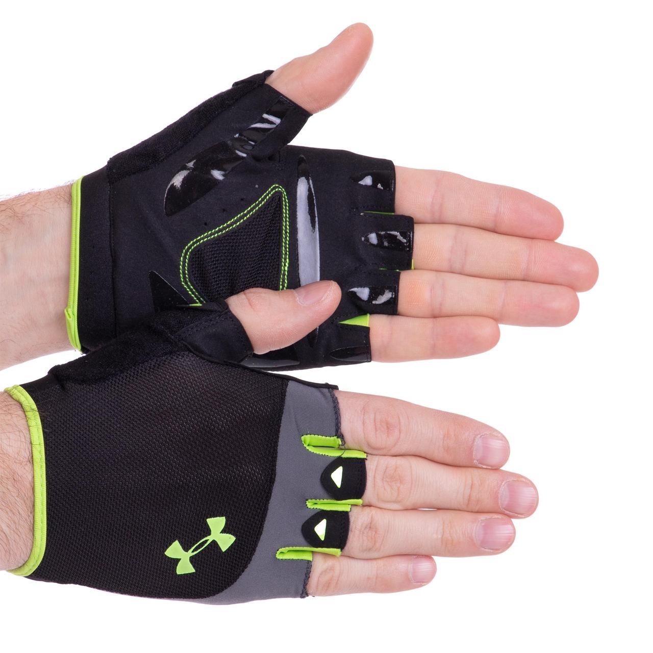 Перчатки для кроссфита и воркаута Under Armour WorkOut 2428 размер L