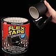 Скотч стрічка Flex Tape надміцна водонепроникна 10х150 см чорна, фото 4