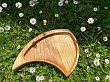 Дерев'яна менажниця піднос розбірний 40х50 см, фото 7