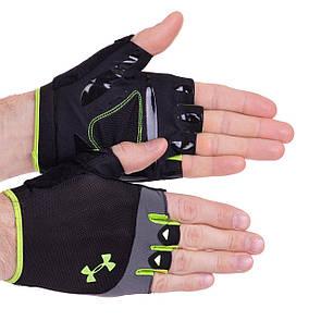 Рукавички для кроссфита і воркаута Under Armour WorkOut 2428 розмір S