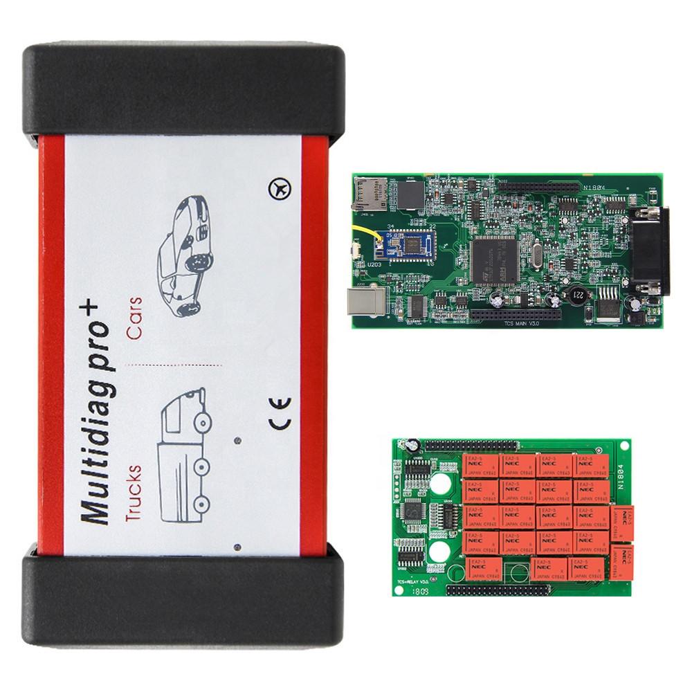 Мультимарочний автосканер Multidiag Pro + Bluetooth + USB двохплатний