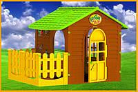Детский игровой домик Elf с терассой
