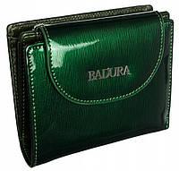 Жіночий шкіряний гаманець Badura з RFID 9,5 х 11,5 х 3 (B-41373P-SH) - зелений, фото 1