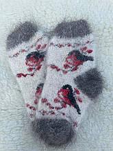 Носки из козьего пуха детские