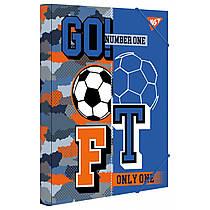"Папка для зошитів YES картонна В5 ""Football"" 491896"