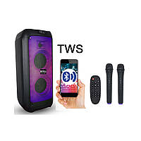 Портативная акустика JB500FLAME USB/MP3/BT/TWS/ 2 микрофона, фото 1