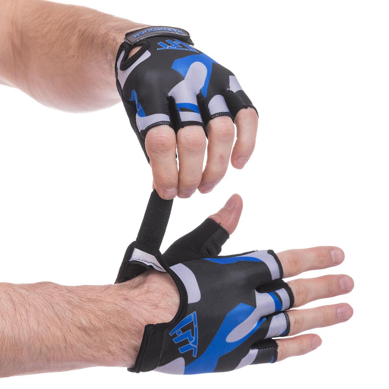 Перчатки для фитнеca HARD TOCH FG-002, размер L