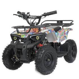 Дитячий квадроцикл (мотор 800W, 3акк12А/12V) Bambi HB-ATV800AS-BR Різнобарвний