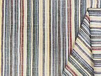Тканина лен натуральний, полоса №1313, фото 1
