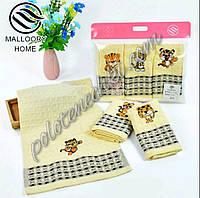 Кухонный набор вафельных полотенец Тигренок