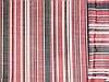 Ткань лен натуральний, полоса № 1319