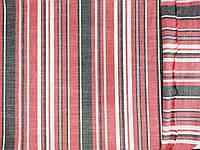 Ткань лен натуральний, полоса № 1319, фото 1