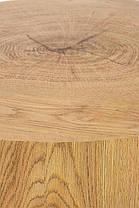 Журнальний стіл BROOKLYN-S дуб/чорний 45х45х45 (Halmar), фото 2