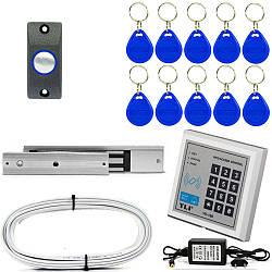 Кодовий електромагнітний замок Електрозамок ЕМ280-ЕК комплект (3009)