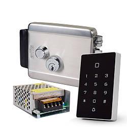 Комплект контроля доступа с кодовой клавиатурой ATIS AK-602B, блоком питания Full Energy BGM-123Pro 12 В / 3