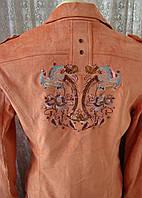 Костюм женский модный демисезонный пиджак юбка Snowny р.52 4813, фото 1