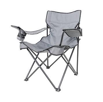 """Крісло """"Вояж-комфорт"""" d16 мм (сірий меланж)"""