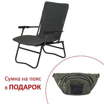 """Крісло """"Білий Амур"""" d20 мм (зелений Меланж)"""